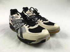 Asics Running, Cross Training White/Silver/Black Used Multiple Sizes