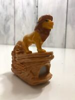 Disneyland 40th The Lion King Simba At Pride Rock Figurine Picture Photo Viewer