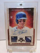 2015 Diamond Kings Joc Pederson 1/1  RC Auto/ Game Used Jersey Relic~Dodgers~