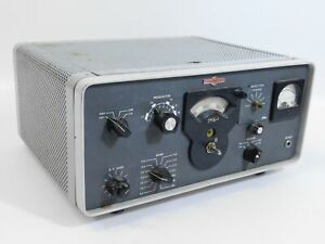 Collins 75S-1 Winged Ham Radio Receiver w/ Waters Rejection (great parts unit)