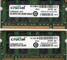 4GB 2x 2GB Apple MacBook Pro A1211/A1212/A1226/A1229/A1260/A1261/A1266 Memory