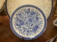 Cauldon China England Blue & White Plate