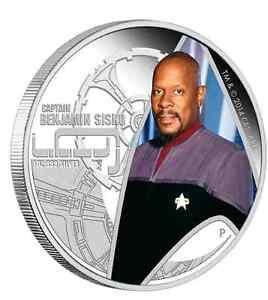 2015 Star Trek: Deep Space Nine Captain Benjamin Sisko 1oz Silver Proof Coin
