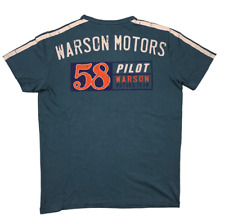 Warson Motors T-Shirt Pilot 58 Petrol Men