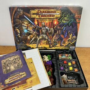 Parker Dungeons & Dragons Board Game - Complete
