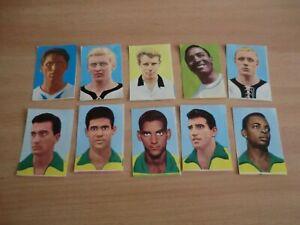 10 Sammelbilder Sammelalbum Fußball, WM 1966 in  England , Rare, Sicker-Verlag
