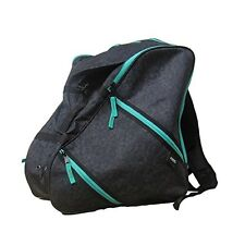 AXIS DESTINY TRIANGLE BLACK PRINT SNOWBOARD SKI BOOT BAG BACKPACK
