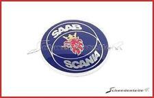 genuine original Saab-Scania logo emblem hood bonnet Saab 9000 Saab 9-3
