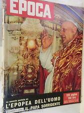 EPOCA 9 novembre 1958 Giovanni XXIII Jean Renoir Anita Ekberg Germania e Russia