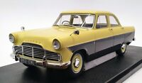 Cult 1/18 Scale CML085-2 - 1957 Ford Zodiac 206E Saloon - Yellow/Grey