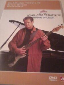 VARIOUS An All-Star Tribute To Brian Wilson DVD Beach Boys POST FREE
