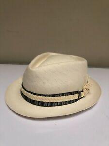 CARLOS SANTANA HAT,MADE IN USA ,HAND CRAFTED