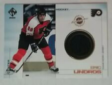 2000-01 PACIFIC PRIVATE STOCK GAME GEAR JERSEY #84 ERIC LINDROS