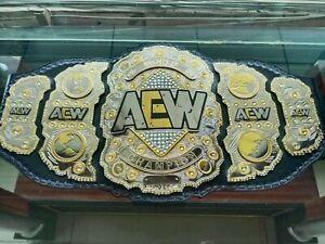 AEW World Heavyweight Wrestling Championship Belt  2 Layers Plates