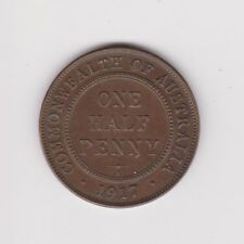 RARE.Australia George V Half-Penny 1917.MINT. I.AUNC VERY COLLECTABLE.G.69