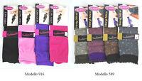 12 Paia Calzini Corti Donna Calze Corte GLADYS Mis 35-40 Colori Diversi D476