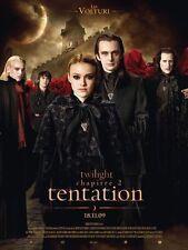 Affiche 40x60cm TWILIGHT Chapitre 2 Tentation (LES VOLTURI) Pattinson NEUVE