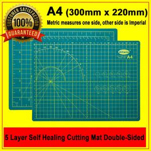 5 Layer Thick Heavy Duty Large A4 Self Healing Cutting Mat (30cm x 22cm x3mm)