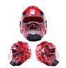 WuShu Taekwondo Karate Training Tournament Protective Gear Helmet Removable Mask
