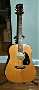 Late 1970's Epiphone Acoustic Guitar Made In Japan Model No. FT