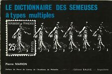 Catalogue des Semeuses à types multiples