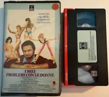 VHS - I MIEI PROBLEMI CON LE DONNE di Earl Bellamy [RCA BOX MORB BLU]