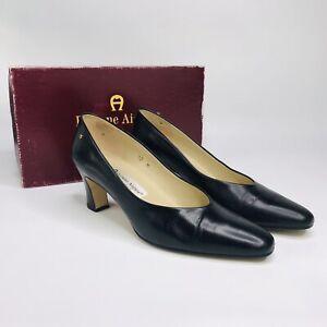Etienne Aigner Women's Pump Shoe Black  sz:10