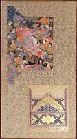 Genuine 400 Year Old Persian Miniatures--Safavid/Qajar/Islamic/Mughal/Turkish