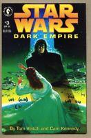 Star Wars Dark Empire #3-1992 nm- 9.2 Dark Horse Comics 1st Standard cover