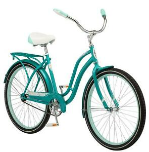 "26"" Women's Cruiser Bike Single Speed Classic Style Comfortable Riding Position"