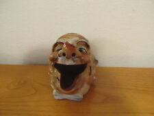 Vintage Porcelain Ashtray Man with Bee on his nose