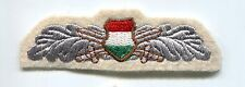 Hungarian Army Reconnaissance NCO Branch Insignia Patch Badge Bullion Communist