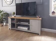 GFW Lancaster Large TV Cabinet - Grey