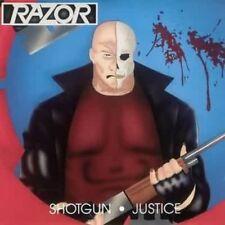 Razor - Shotgun Justice [New CD] Reissue