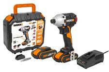 WORX WX261 18V (20V MAX) Brushless Impact Driver 2 x 2.0Ah Batteries