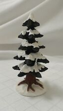 Lefton SMALL SNOW TREE Holiday Colonial Christmas Village 01166  (1 piece) C2
