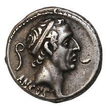Ancient Roman Republic L. Marcius Philippus Silver Denarius 57 BC Rome