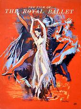 ROYAL BALLET 1960 Margot Fonteyn NICOLA SIMBARI UK BROCHURE
