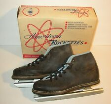Vintage American Rockettes Shoe Ice Skates for Children w/ Box Nice for Display
