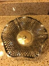 Antique Apollo Silver Co Filigree Bread Basket Quadruple Plate