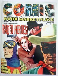 COMIC BOOK MARKETPLACE | NR. 119 (JAN. 2005) | RADIO HEROES | Z 1 VF