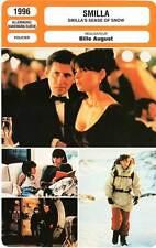 FICHE CINEMA : SMILLA - Ormond,Fletcher,August 1996 Smilla's Sense Of Snow