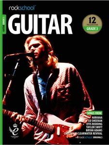 Rockschool Guitar 2018-2024 grade 3 Book/Audio