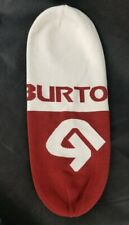 Burton Men's Reversible Beanie Snow Snowboard Ski Winter Hat Stocking Cap White