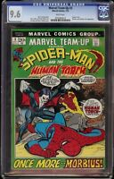 Marvel Team Up # 3 CGC 9.6 White (Marvel, 1972) Morbius and Human Torch