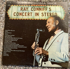 Ray Conniff's Concert In Stereo Live At The Sahara / Tahoe 2 LP Set 1970 30122 C