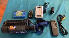 Sony CCD-TRV15 8mm Hi8 Analog Camcorder Handycam Video Transfer Camera.