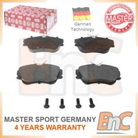 GENUINE MASTER-SPORT GERMANY HEAVY DUTY FRONT DISC BRAKE PAD SET FOR VW