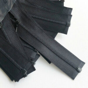 5PCS 10cm Mini Nylon Zippers Open End Doll Dress Clothing Sewing Replacement DIY