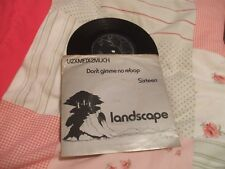 Landscape, U2XM1X2MUCH ep, Event Horizon, private press